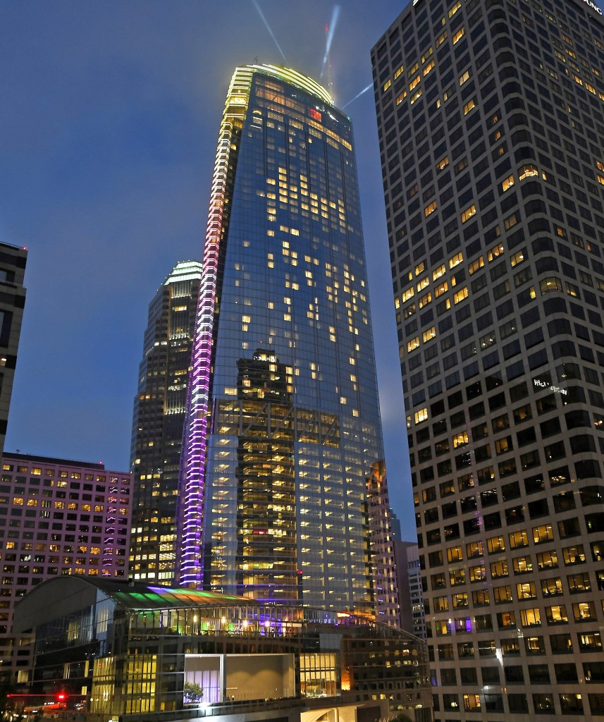 Wilshire Grand Tower in LA