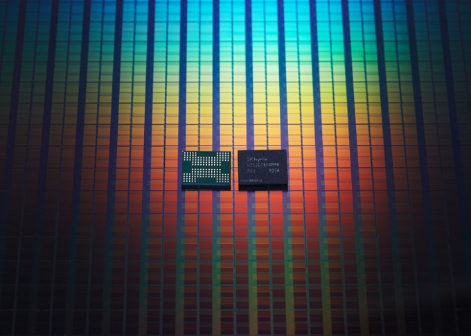 Advanced NAND flash chip made by SK Hynix