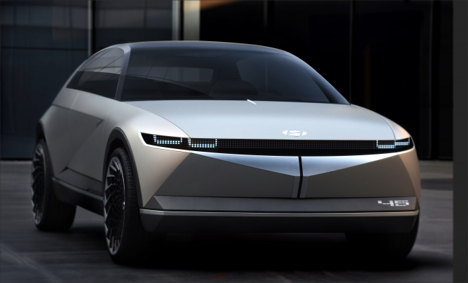 The Hyundai 45 EV Concept previews the IONIQ 5