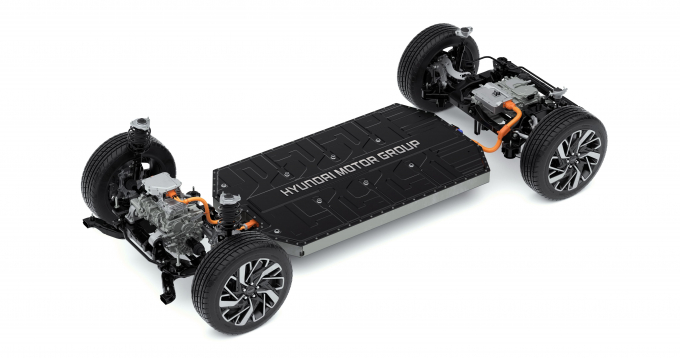 Hyundai Motor's E-GMP platform for electric vehicles