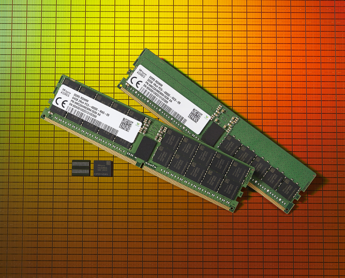 SK Hynix's second-generation DDR5 DRAM chip