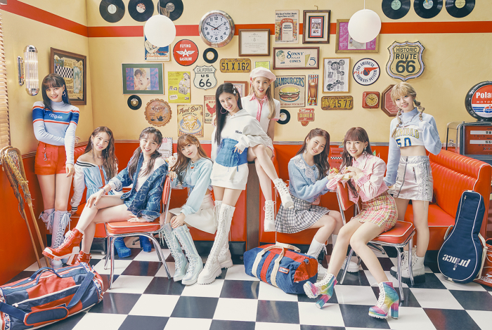 JYP's girl group NiziU has been topping the charts in Japan.