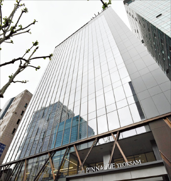 Office building price in downtown Seoul at record high
