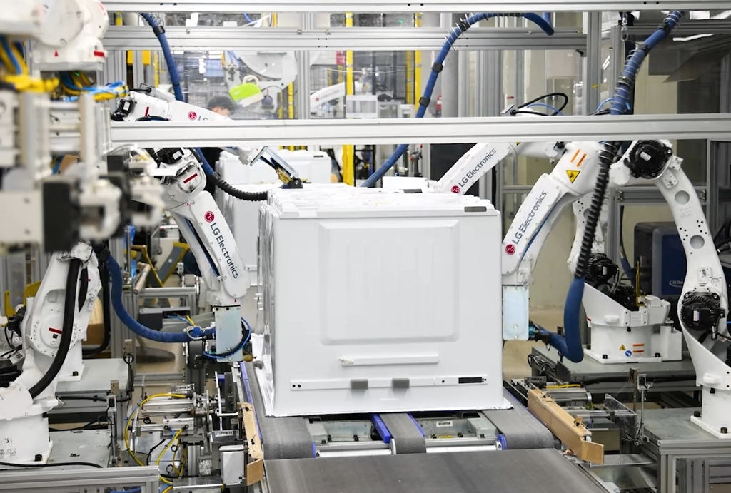 LG Electronics turns home appliance plant into smart factory