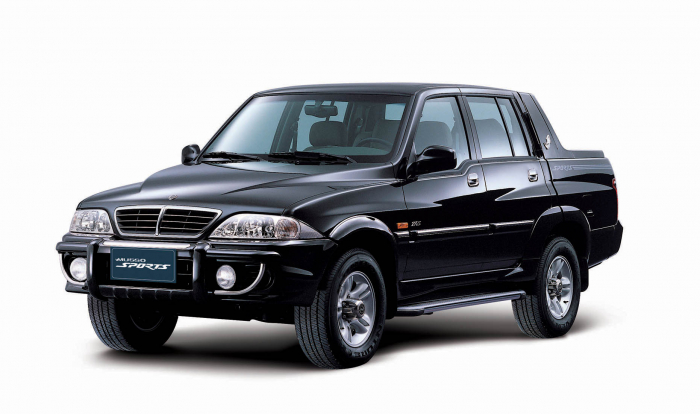 Ssangyong's SUV Musso